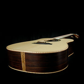 dreadnought bent twig guitar
