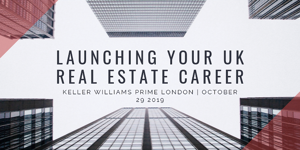 Launching your UK Real Estate Career