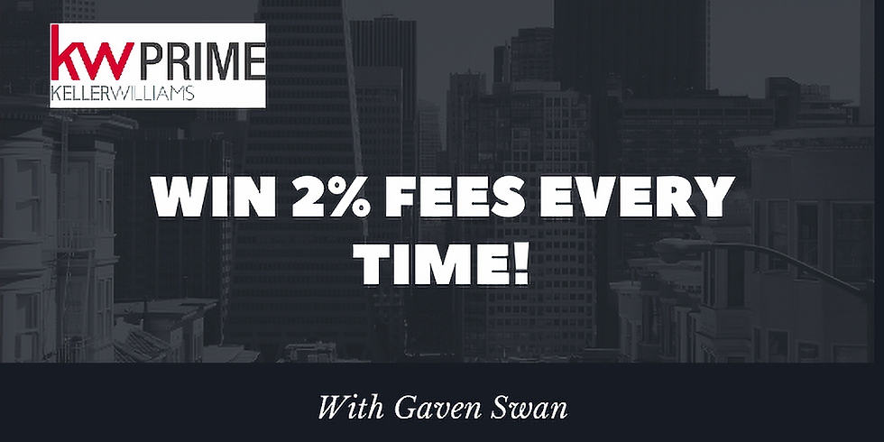 Win 2% Fees Every time!