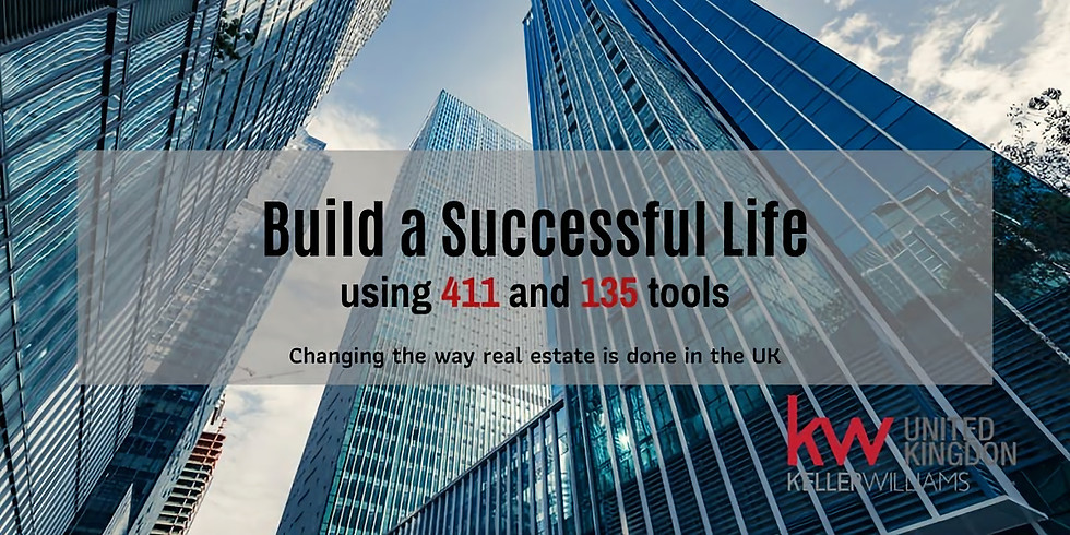 Build a Successful Life with a Clear Vision, GPS (1-3-5) and 4-1-1 Plan