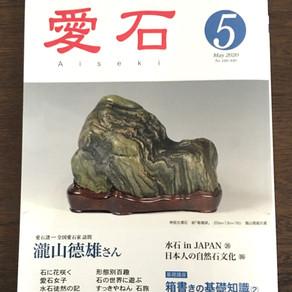 竜魂〜「愛石」5月号(2020年)を読む