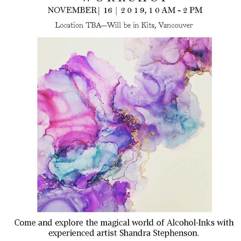 Alcohol-Inks Workshop
