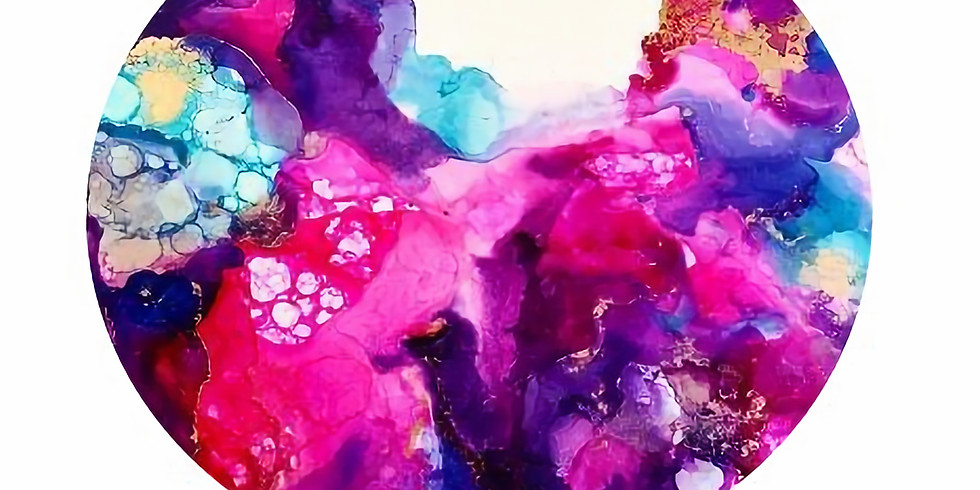 Exploring Alcohol Inks with Shandra
