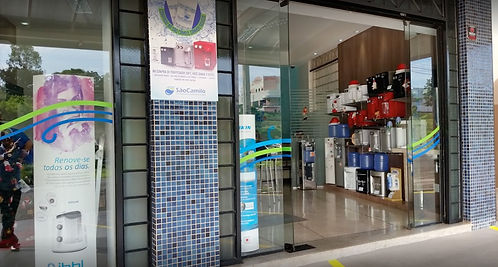 Entrada da loja