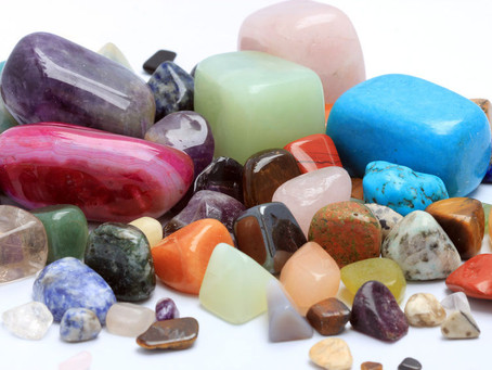 A forma dos cristais e seus poderes mágicos