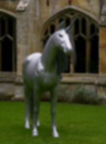 "Wire Sculpture ""The Last Unicorn"" - Exhibition piece available for sale"