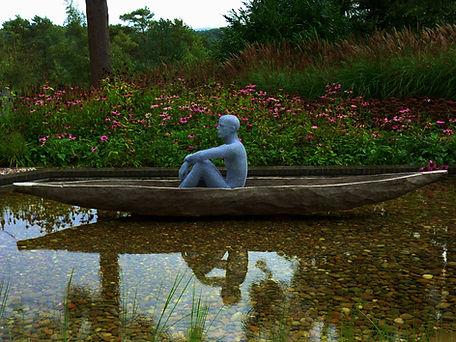 """Wire Sculpture """" Spirit of Castara"""" by Derek Kinzett Wire Sculptures"""