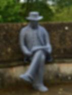 """""""Wire Sculpture """"Harold Peto"""" by Derek Kinzett Wire Sculptures"""