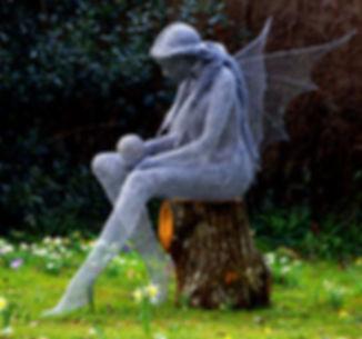 """Wire Sculpture """"Crystal"""" by Derek Kinzett Wire Sculptures"""