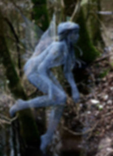 "Wire Sculpture ""Woodland Spirit"" by Derek Kinzett Wire Sculptures"