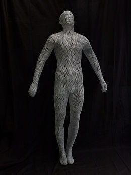 """Wire Sculpture ""The Afterlife"" by Derek Kinzett"""