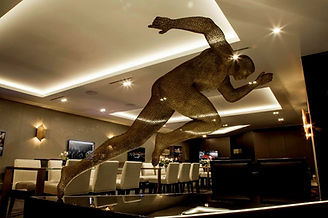 """Wire Sculpture """" Spirit of McLaren"""" by Derek Kinzett - Wire Sculptures"""