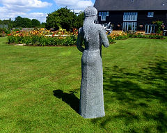 "Hampton Court Palace Flower Show, Wire Sculpture ""The Spirit of Mimi"" by Derek Kinzett Wire Sculptures"