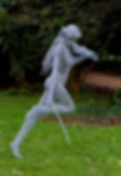 "Wire Sculpture ""Free Spirit"" by Derek Kinzett Wire Sculptures"