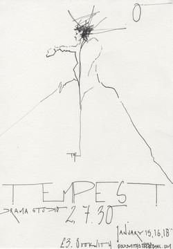 Prospero, The Tempest
