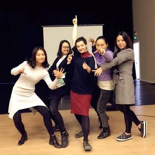Creativity in Teaching Trainer, China