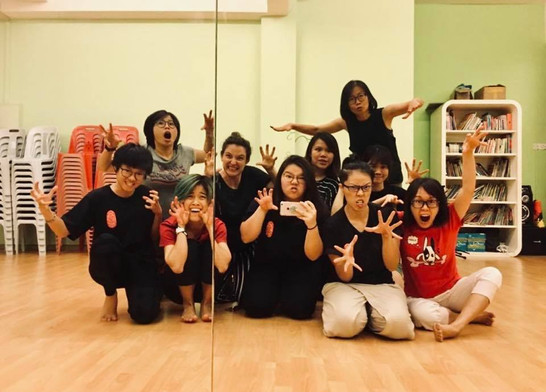 Actor Training @ Talent and Arts Performing Centre, Kuching, Malaysia (2018)