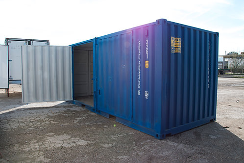 20'ft 6m New Standard Open Side Container