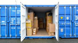 containers shelf storage