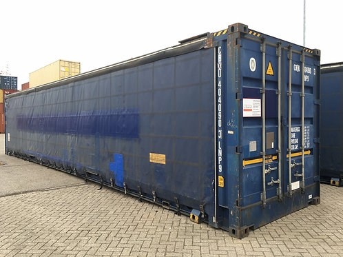 45' High Cube Pallet Wide Curtain Side