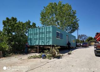 60 τ.μ 2 x 12 m High CubeContainer για Γραφείο