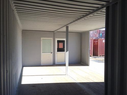 2 x 40'Standard Ενομένα Office