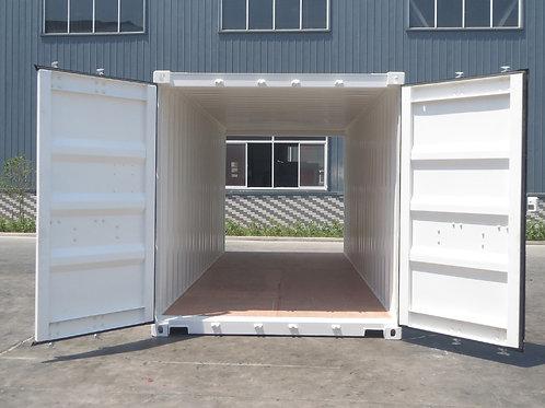 20'ft-6m Double Door Standard Steel Container