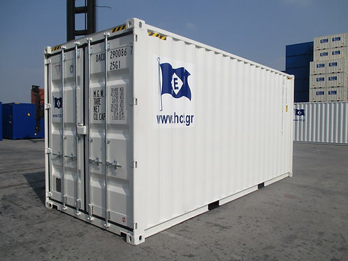 20'ft - 6m High Cube New Steel Container Double Door