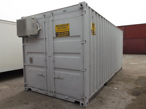 20ft - 6 m Standard Office Container A/C