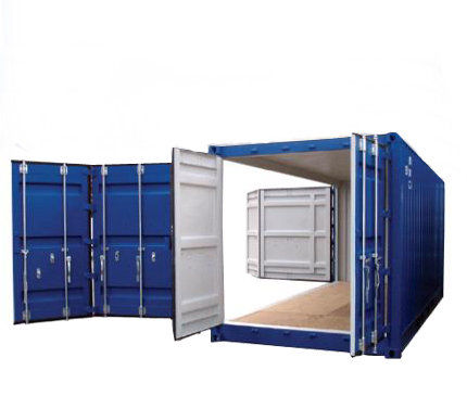 New Open Side Container