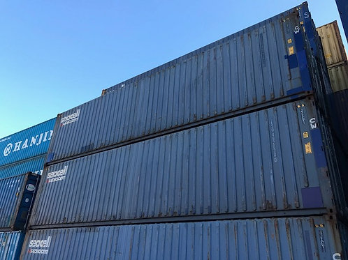 12M - 40'High Cube Pallet Wide Container
