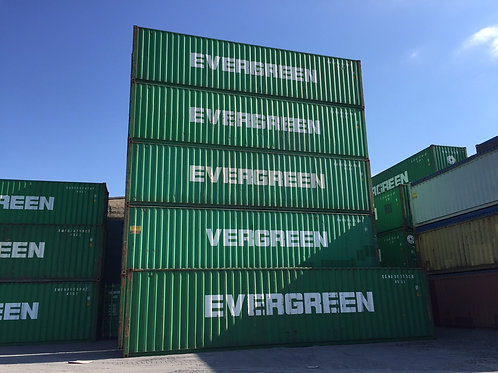 40ft - 12m High Cube Steel Container
