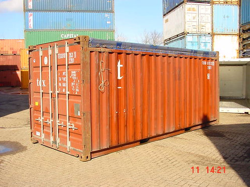 20'ft Open Top Container