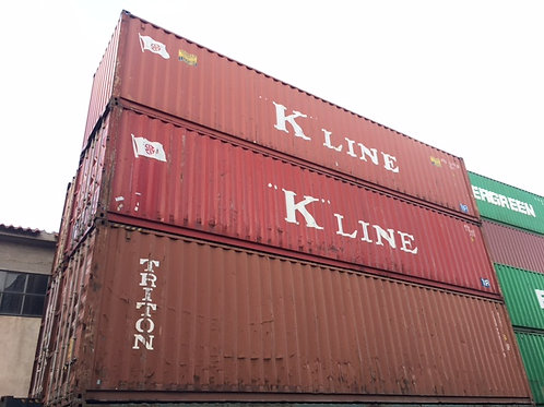 12M - 40'ft Standard Container