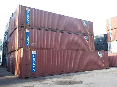 45'ft 13,6m High Cube Pallet Wide