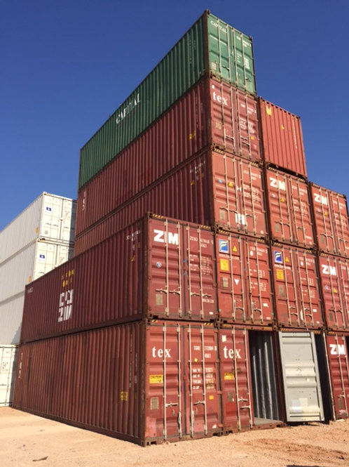 12M - 40'High Cube Steel Container