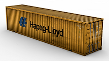 40'High Cube Steel Container