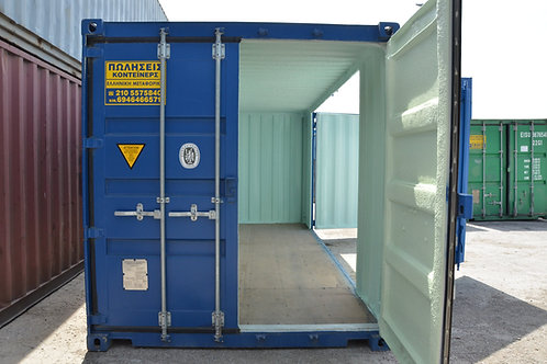 6m 20ft Standard New Open Side Container with Insulation