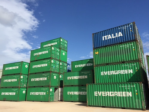 6M - 20'ft Standard Used Steel Container