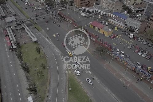 DR125 DRONE BOGOTA,TRANSMILENIO, CENITAL, BARRIOS UNIDOS