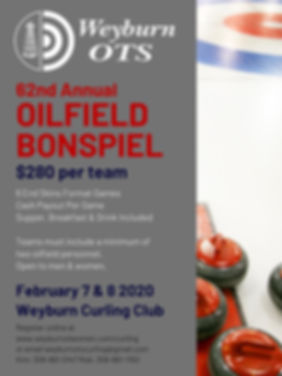 OTS CURLING 2020 - 62nd ANNUAL OILFIELD