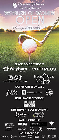 Weyburn Oilwomens - Golf Tournament pull