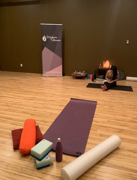 WOW Yoga Evening for our 2018 Memebers