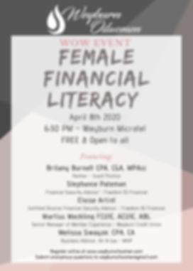 Weyburn Oilwomen - Female Financial Lite