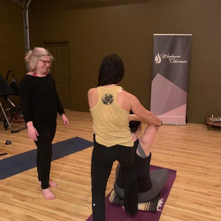 WOW YOga Evening for our 2018 Members