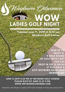 June 11,2019 4_30 pm at Weyburn Golf Cou