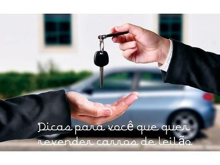 Você quer comprar carro em leilão para revender?