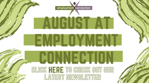 August at Employment Connection