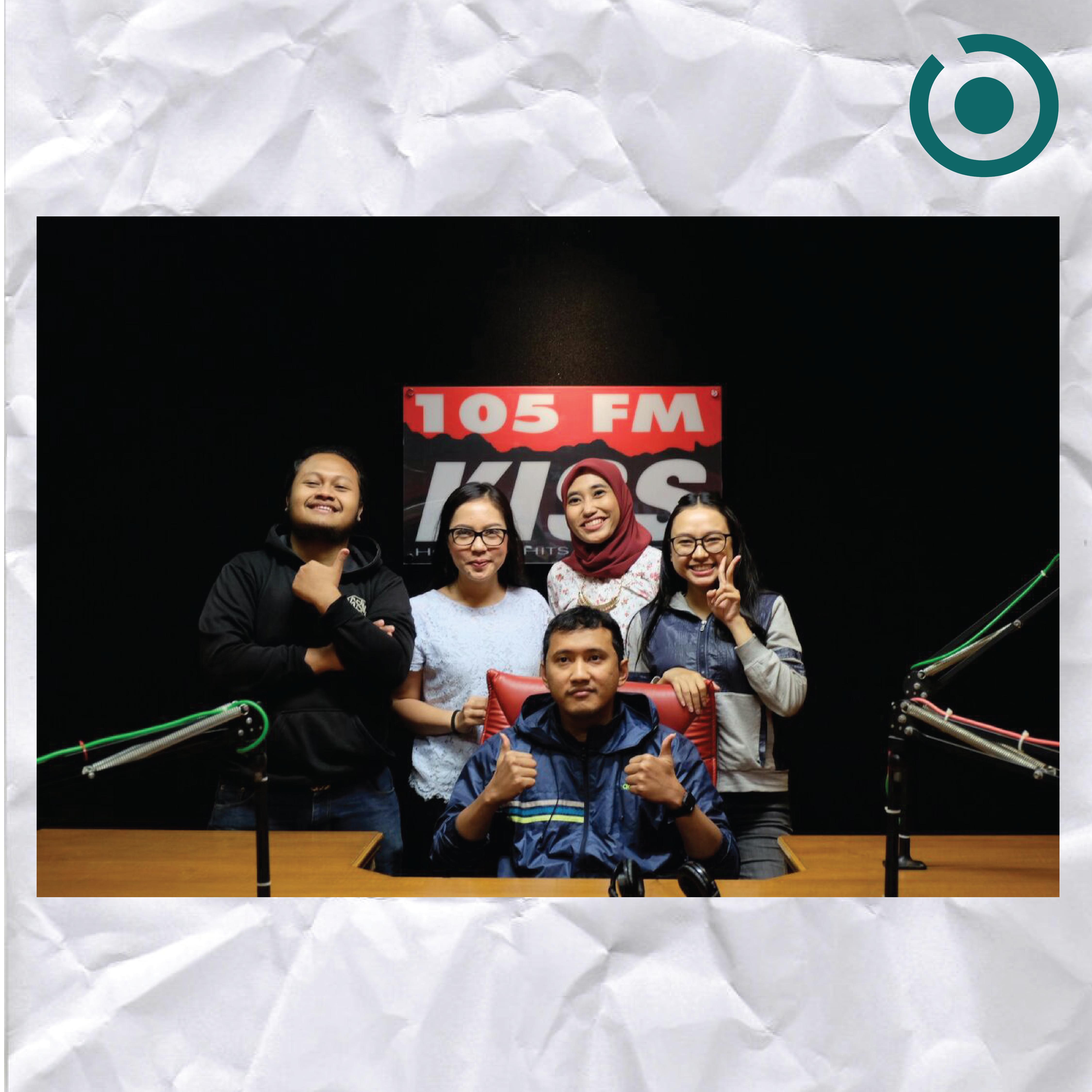 Interview @ 105 KISS FM Medan