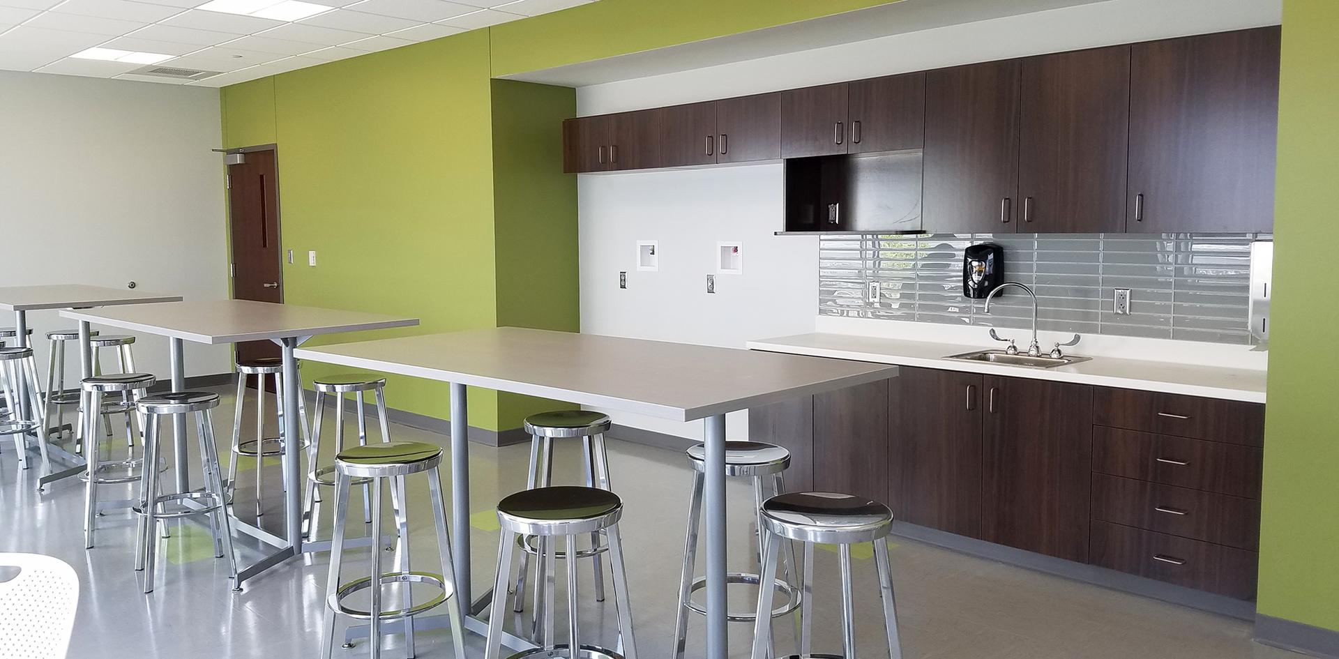 McLean County Orthopedics Breakroom